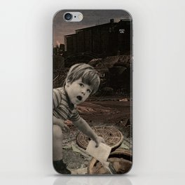 watch out for vandals iPhone Skin