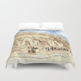 AbuSimbel20150901 Duvet Cover
