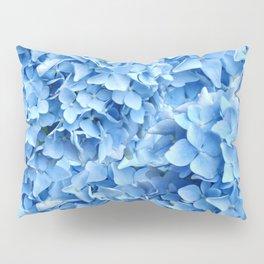 BABY BLUE HYDRANGEAS FLORAL ART Pillow Sham