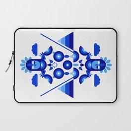 Libra in Blue Laptop Sleeve