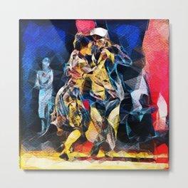 Tango Energy II - Primary Colors Metal Print
