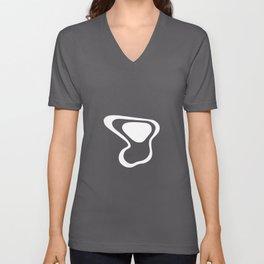 Whimsy (type 6) - White Unisex V-Neck