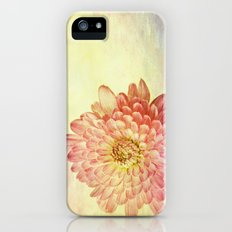 Textured Birthday Flower  iPhone (5, 5s) Slim Case
