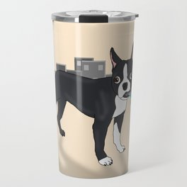 Attack of the Colossal Boston Terrier!!! Travel Mug