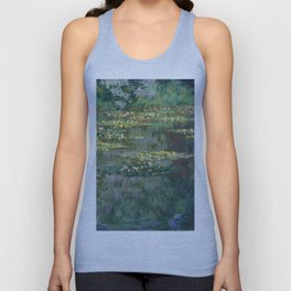 Water Lilies 1904 by Claude Monet Unisex Tank Top