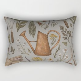 Gardening Rectangular Pillow