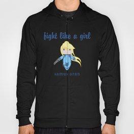 Fight Like a Girl | Intergalatic Bounty Hunter Zero Hoody