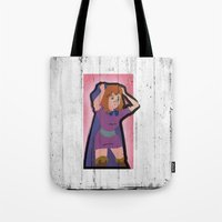 dungeons and dragons Tote Bags featuring DUNGEONS & DRAGONS - SHEILA by Zorio