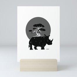 Rino Mini Art Print