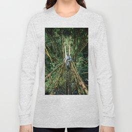 Vine Bridge of Death: Papua New Guinea Long Sleeve T-shirt