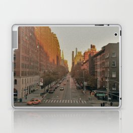 The Yellow Muted City (Color) Laptop & iPad Skin