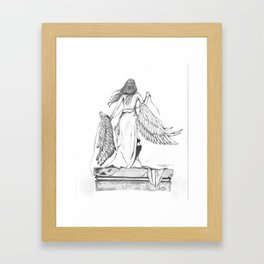 Too Heavy to Carry Framed Art Print