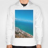 brazil Hoodies featuring Brazil Beach by Mauricio Santana