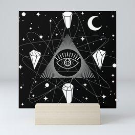 Space Crystals & Secrets of the Universe Mini Art Print