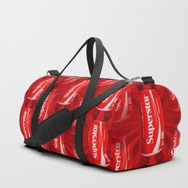 Coca Cola - Coke - Superstar - Pop Art Pattern Duffle Bag