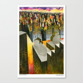 Yonge and Davisville Canvas Print