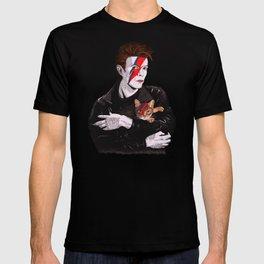 David & The cat T-shirt