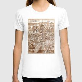 Florencia Sepia T-shirt