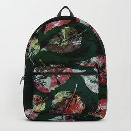 Emerald leaves Backpack