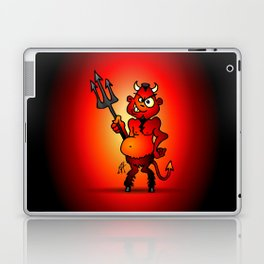 Fat red devil Laptop & iPad Skin