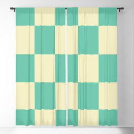 Classic Checker Laestrygonians Blackout Curtain