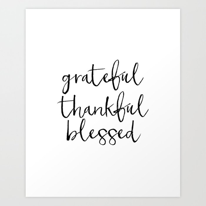 photo relating to Thankful Printable named Thankful Grateful Lucky Print,Grateful indicator,Grateful Thankful Printable,Grateful Quotation,Thankful Th Artwork Print by means of srbartprints