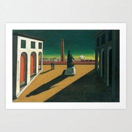Giorgio de Chirico - The Square [1913] Art Print