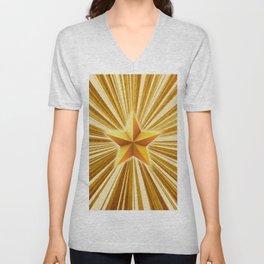 Shiny star Unisex V-Neck