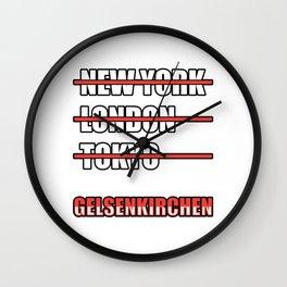 Gelsenkirchen Other cities Wall Clock