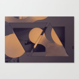 triangles / photography Canvas Print
