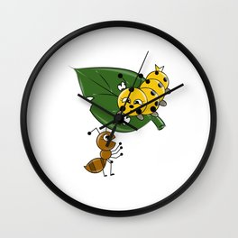 Talking Animals Wall Clock
