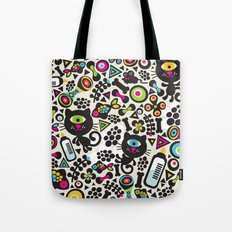 Black cats. Tote Bag