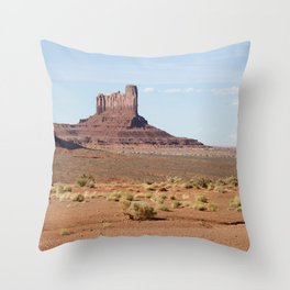 Monument Valley Camel butte Throw Pillow