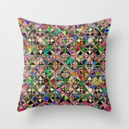 Geo Mosaic Throw Pillow
