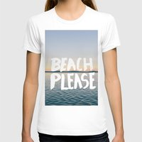 beach T-shirts featuring Beach by Trend