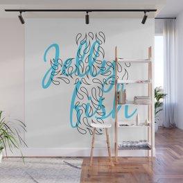 Jellyfish Cross Wall Mural