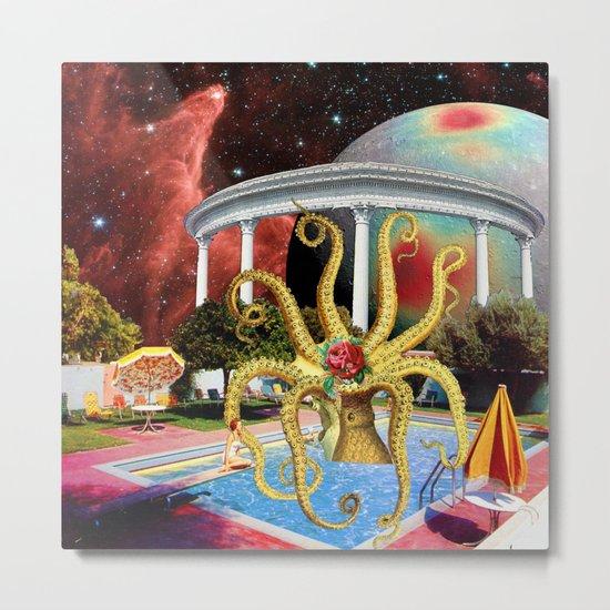 Charitable Octopoda Metal Print