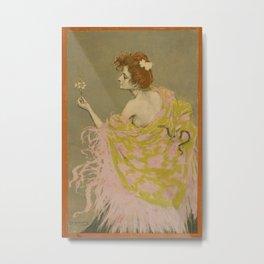 Vintage poster - Sifilis Metal Print