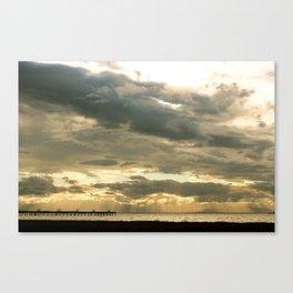 Richmond Light Beams Canvas Print