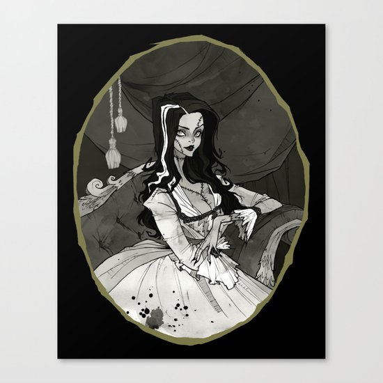 Bride of the Monster Canvas Print