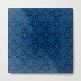Lapis Blue Star Metal Print