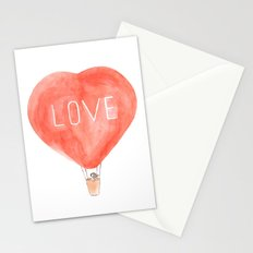 LOVE in the air Stationery Cards