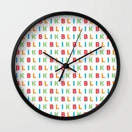 Keep It On Repeat Wall Clock
