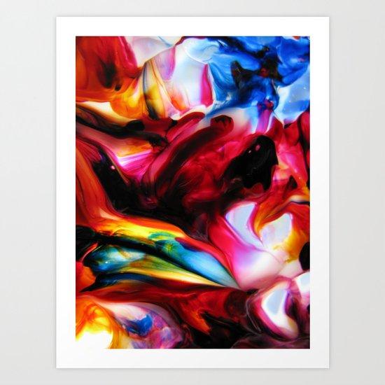 repertory modal Art Print