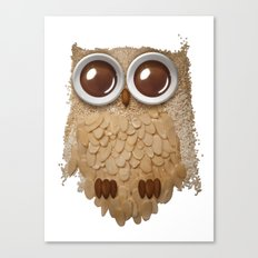 Owl Collage #6 Canvas Print