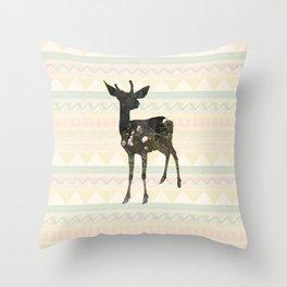 oh deerest me  Throw Pillow