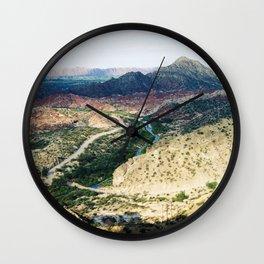 Jachal 1 Wall Clock