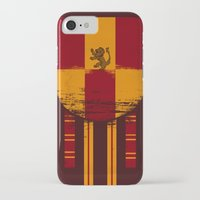 gryffindor iPhone & iPod Cases featuring gryffindor crest by nisimalotse