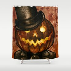 Dapper Jack Shower Curtain