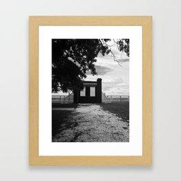 Beauvoir Gate Framed Art Print
